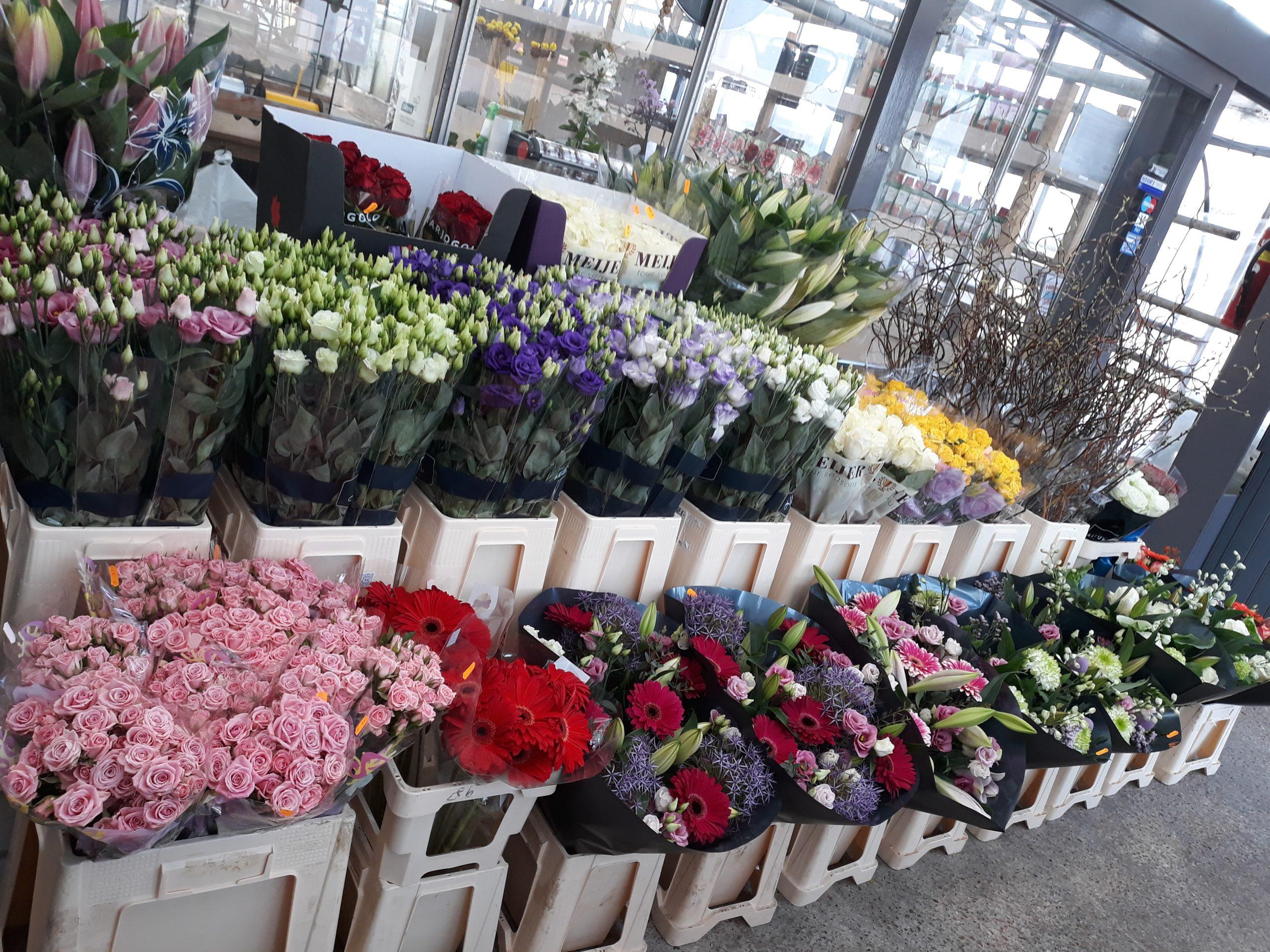 bloemen en boeketten bij Jonkheer Plantencentrum Hillegom