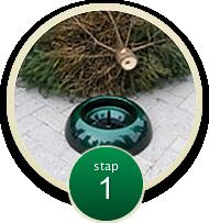 easyfix kerstboomstandaard bij Jonkheer Plantencentrum Hillegom